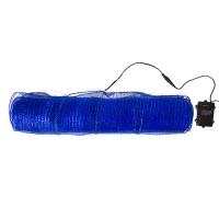 Ruban de tulle bleue lumineuse 21'' x 10 verges