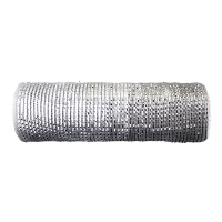 Christmas mesh roll silver 10''/ 10 yards