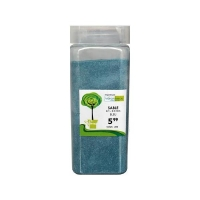 Blue sand 0.1-0.3 mm in a jar of 550 ml / 850g