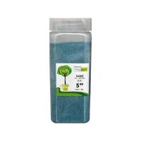 Sable bleu de 01-03 mm dans un pot de 550 ml  / 850 gr