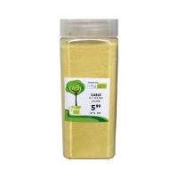 Sable jaune de 01-03 mm dans un pot de 550 ml  / 850 gr