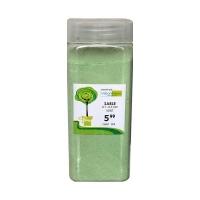 Sable vert de 01-03 mm dans un pot de 550 ml  / 850 gr