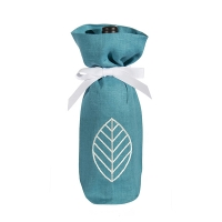 Outdoor blue wine bag