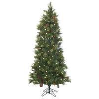 6' Artificial led illuminated fir tree