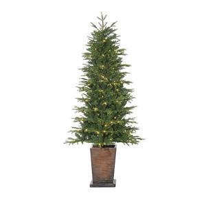 Sapin illuminé en pot 6' x 33 Diam. 200 Lum.