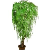8' Artificial tree, weeping willow