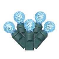 Set de 100 lumières del bleu, 34' de long