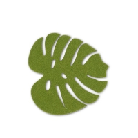 Tropical Leaf Coaster