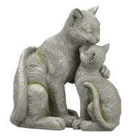 Kissing Cats, 13.5''