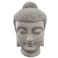 Tête de bouddha, 27,5''