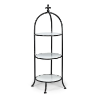 Large Tiered Plate Stand
