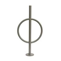General steel bike rack 18 x 18 x 35'', light grey