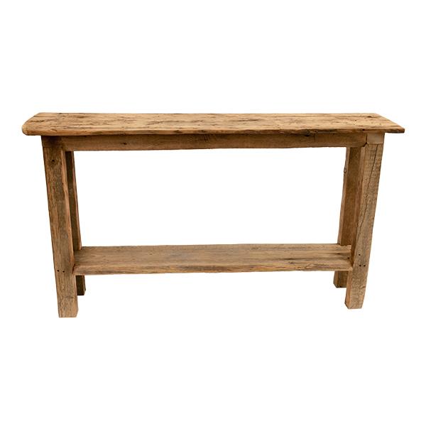 table console en bois de grange d cors v ronneau. Black Bedroom Furniture Sets. Home Design Ideas