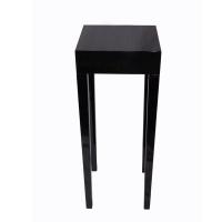 Table d'appoint noire9x9x31'''