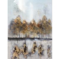 Tableau contemporain, fini lustré 36 x 48''