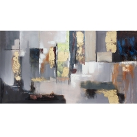 Abstract painting, high gloss finish 30 x 60''