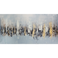 Modern canvas, high gloss finish 30 x 60''