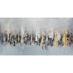 Tableau contemporain, fini lustré 30 x 60''