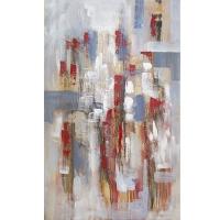 Tableau abstrait, fini lustré 48 x 36''