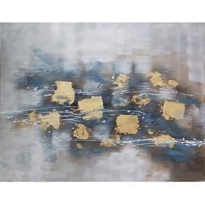 Toile abstraite, fini lustré 36 x 48''