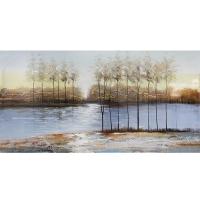 Modern canvas, high gloss finish 30 x 60''