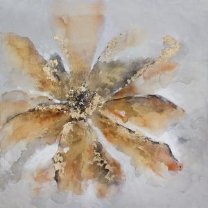 Toile florale, fini lustrée 36 x 36''