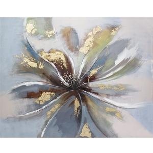 Toile florale, fini lustré 36 x 48''