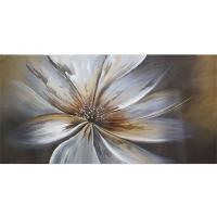 Large tableau contemporain, fini lustré 30 x 60''