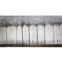 Decorative canvas, high gloss finish 30 x 60''