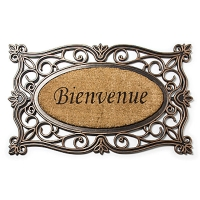 Copper ''bienvenue'' doormat 18 x 30''