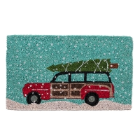 Christmas Tree Pickup Doormat, 18x30''