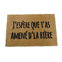 Doormat with Beer Quote
