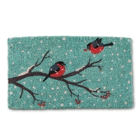 Bird on Branch Doormat, 18x30''