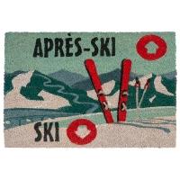 Tapis extérieur, ski