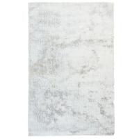 Tapis shag blanc 5x7'