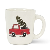 Holiday Truck Mug