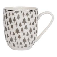 Mug with Silver Trees