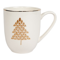 Mug with Gold Trees