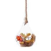Autumn Foliage Hanging Terrarium