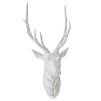 Tête de chevreuil blanche, 36''