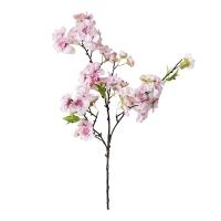 Tige de fleur de cerisier rose pâle 18''