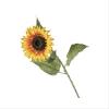 Tige de fleur de tournesol jaune 34''