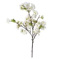 Tige de fleurs de cerisier blanc 18''
