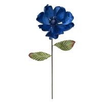 Tige de magnolia bleu royal