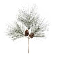 Pine with pine cones spray 26''