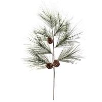 Pine with pine cones spray 40''
