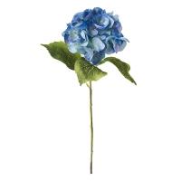 Tige d'hydrangée bleue 19''