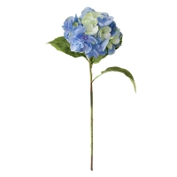 Tige d'hydrangée bleue pâle 19''