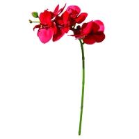 Tige d'orchidée rouge 23''