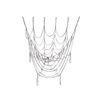 Toile d'araignée décorative 56''